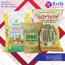 Zinc Sulphate Bags