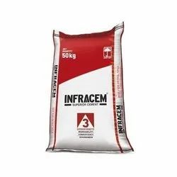 Nuvoco Infracem Superior PPC Cement, Cement Grade: Grade 53, Packaging Size: 50 Kg