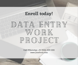 Data Entry Projects In Tirupati