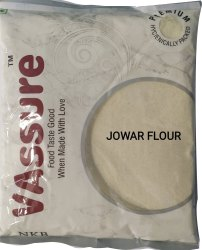 Indian VAssure Jowar Flour, 500 Gm, Packaging Type: Packet