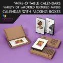 Table Calendar with Box