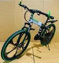 Hummer Green Foldable Cycle