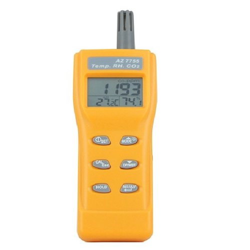 CO2 Detector Humidity Dew Point Temperature Detection RH Temp CO2 Tester