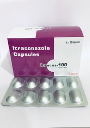 Intraconazole 100 mg Capsules