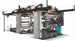 Non woven Flexographic Printing Machine