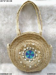 Embroidered Fancy Jute Bag