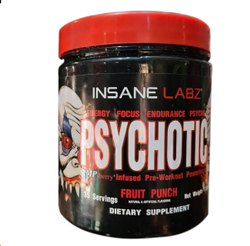 Insane Labz Fruit Punch Psychotic, Packaging Size: 216 G, Prescription