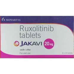 Ruxolitinib Jakavi 20 Mg, Novartis, Packaging Size : 4x14