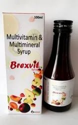 100 ml Multivitamin and Multimineral syrup