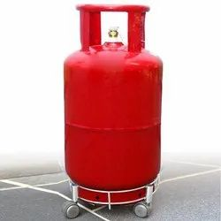 Stainless Steel Gas Cylinder Trolley with Heavy Duty Wheels