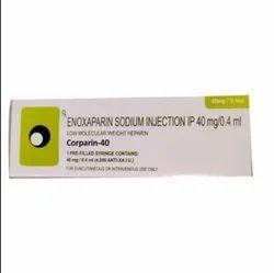 Corparin-40 Enoxaparin Injection 40 mg/0.4 ml