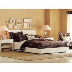 Vasavi Plywood Low Height Bed, For Home, Size: 60 X 75 X 32 Inch