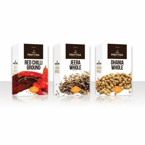 Spice Packaging Box \'\'Make in INDIA\'\'