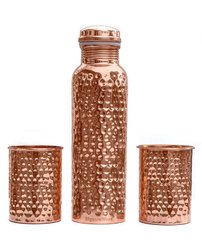 Copper Bottle Glass Set