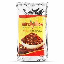 Mirchillion Red Chilli Flakes 1Kg Saver Pack, Packaging Size: 1000gm