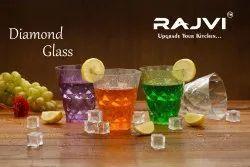 Rajvi Plastic Wine Juice Glass Set