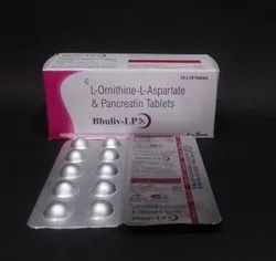 L Ornithine L Aspartate & Pancreatin Tablets