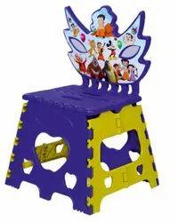 SAAMU Plastic Folding Baby Chair - 12 Inch