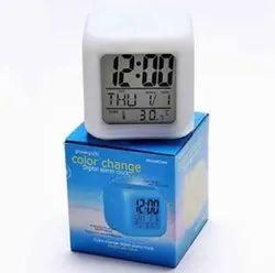 Color Change Digital Alarm Clock