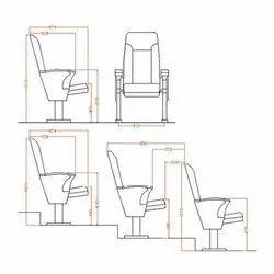 Auditorium Fixed Chair