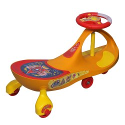 Yellow, Red 52173 Motu Patlu Premium Magic Car, For Playing