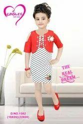 Silk Blue Designer Kids Ethnic Wear