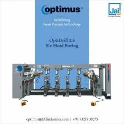 Optimus Six head multi boring machine