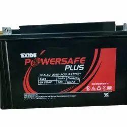 65 AH Powersafe Plus Exide Industrial Battery