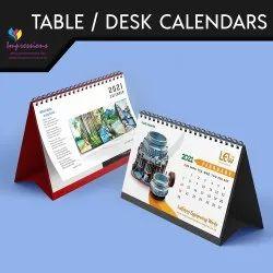 6-7 Days Hindi, English Table Calendar Printing Services, in Pan India