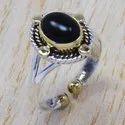 925 Sterling Silver Jewelry Ring Tiger Eye Gemstone SJWR-266