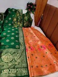 Banarasi Brocade Silk Lehenga