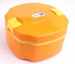 Plastic Insulated Steel Inner Cuboid Lunch Box Tiffin 800 Ml