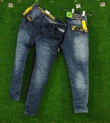 Denim Loose Fit Men Modern Damages Jeans, Waist Size: 28-32