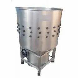 Chicken Cleaning Machine 5 Birds Ss 304 Gear Box Type