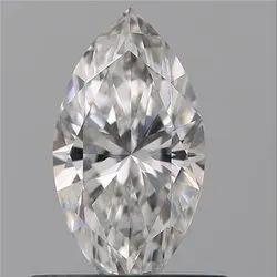 Marquise 0.51ct E VVS2 GIA Certified Natural Diamond