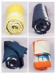 Tie-Dye Print Cotton Quilts Razai Reversible