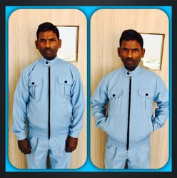 Cotton Round Men Winter Jacket, Size: Large