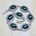 Black Onyx Gemstone 925 Sterling Silver Jewelry Bracelet SJWBR-43