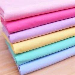 Plain Cotton Fabric, Plain/Solids, Multicolour