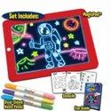 Magic Pad Light Up Drawing Glow Pad Doodle Art Board For Kids