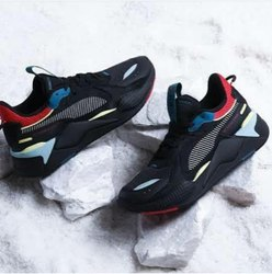 Men Black Puma RS X Shoes