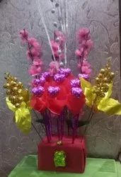 Assorted Flavors Mixed Chocolate Bouquet, For Gift