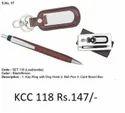 2 In 1 Ball Pen & Keyring Dog Hook