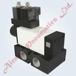 5/2 Way Poppet Double Solenoid Valve