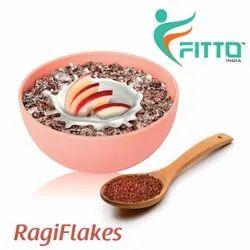 Ragi Flakes, Packaging Type: Packet, Organic