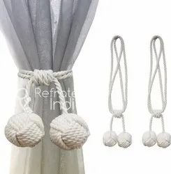 Macrame Curtain Tie Back