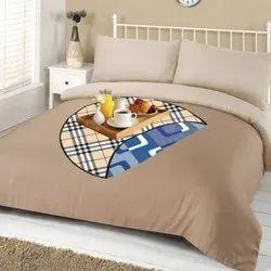 Multicolor PVC Cream Round Bed Server, Size: 36*36 Inch