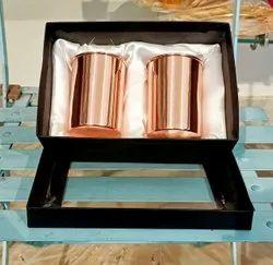 Copper Glass Set, Wedding Gift, Diwali Gift, Corporate Gift