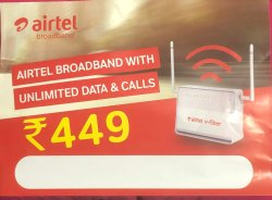 Airtel Broadband Internet Services