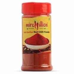 Hot Guntur Red Chilli Powder Bottle 50gm